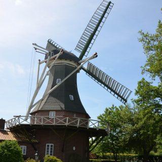 Windmühle in Ganderkesee. Foto: Anja Lütje, Gemeinde Ganderkesee