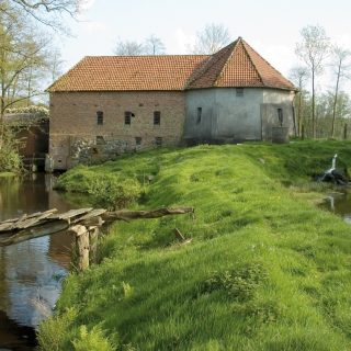 Die Stüvenmühle. Foto: Gemeinde Visbek