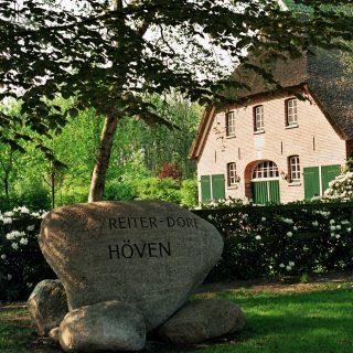 Das Reiterdorf Höven. Foto: Tourist-Information Wardenburg umtref