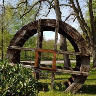Altes Wasserrad an der Lethe, Foto: umtref