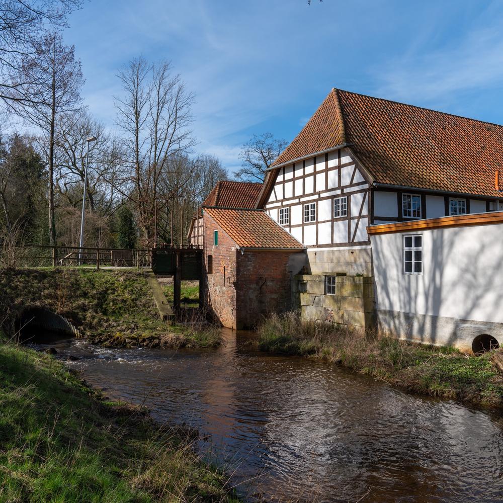 Wassermühle Neubruchhausen. Foto: Stadt Bassum