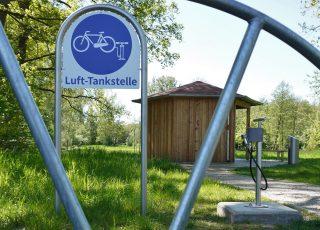 Pumpstation im Reisegarten