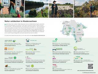 Übersicht über die 14 niedersächsischen Naturparke