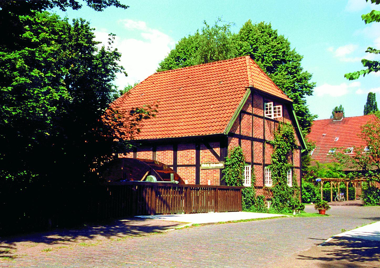 Naturpark Wildeshauser Geest: Die Klostermühle in Hude