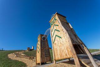 Kletterparcours Bassumer Utkiek; Foto: AWG