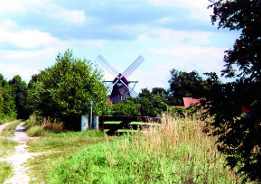 Die Windmühle in Kätingen